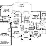 Mediterranean House Plan Lucardo Floor