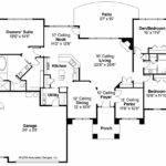 Mediterranean House Plan Mendocino Floor
