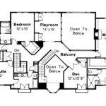 Mediterranean House Plan Moderna Floor