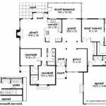 Mediterranean House Plan Plainview Floor