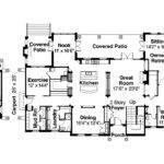 Mediterranean House Plan Rosanno Floor