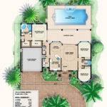 Mediterranean House Plan Small Home Floor