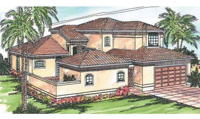 Mediterranean House Plans Coronado Associated