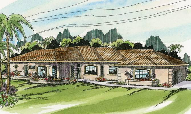 Mediterranean House Plans Glenridge Associated