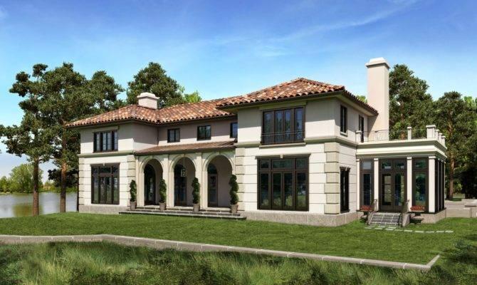 Mediterranean House Plans Photos
