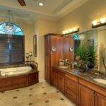 Mediterranean Manor Master Bath Bathrooms Pinterest