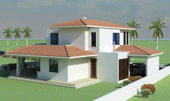 Mediterranean Modern Homes Exterior Designs Home Decorating