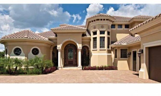 Mediterranean Modern House Plans Dhsw