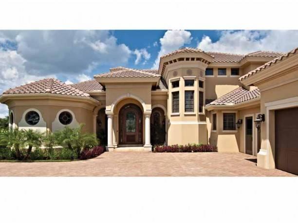 Mediterranean Modern House Plans Dhsw - House Plans | #98993