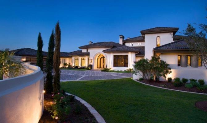 Mediterranean Modern Residence Designed Moorish Style