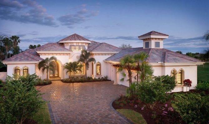 Mediterranean Ranch Style House Plans