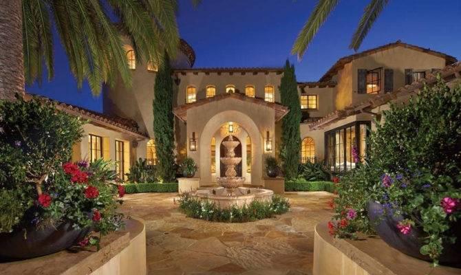 Mediterranean Style Estate Shady Canyon Idesignarch