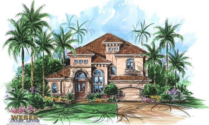 Mediterranean Style House Floor Plans Plan