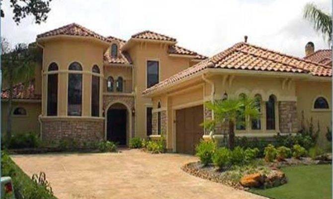 Mediterranean Style House Plans Spanish Designs