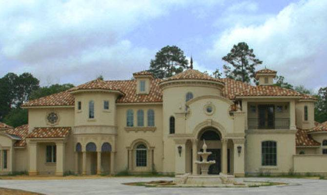 Mediterranean Style Stucco House Examples