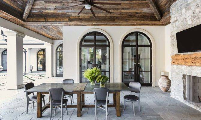 Mediterranean Style Texan Home Light Flooded Interiors