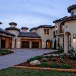 Mediterranean Tuscan Style Home House Exterior Pinterest