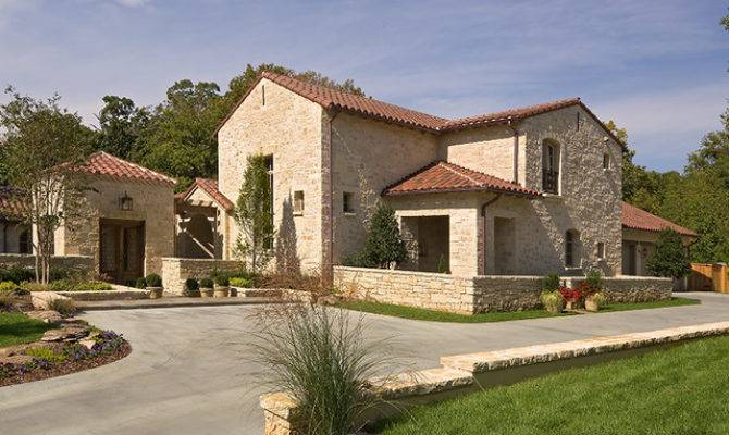 Mediterranean Tuscan Style Homes