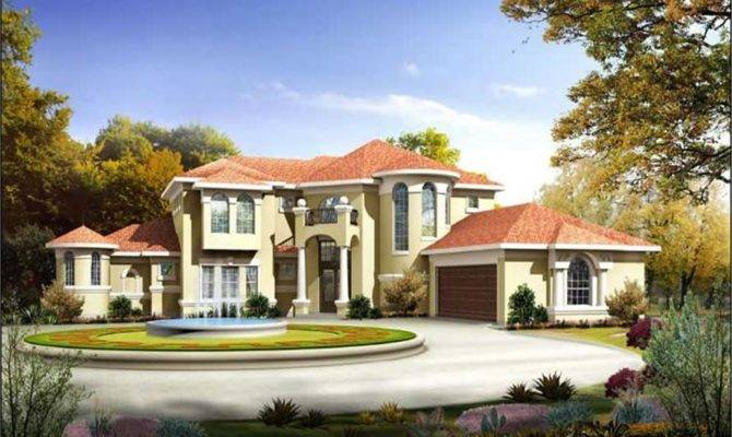 Mediterreanean House Plans Victorian Home Design