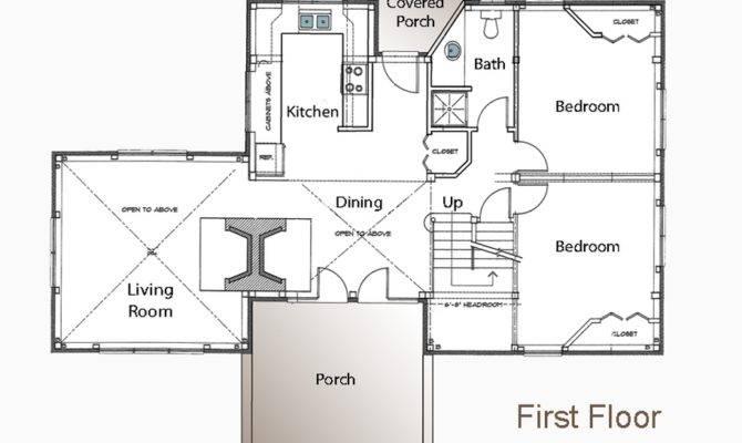 Meeks Point Guest Cottage Floor Plans American Post
