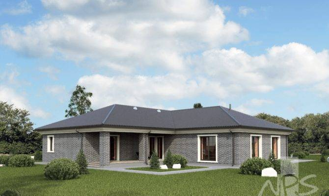 Meida Single Storey House Project Two Place Garage
