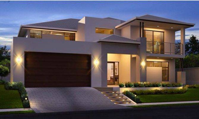 Mesmerizing Double Storey House Home Design