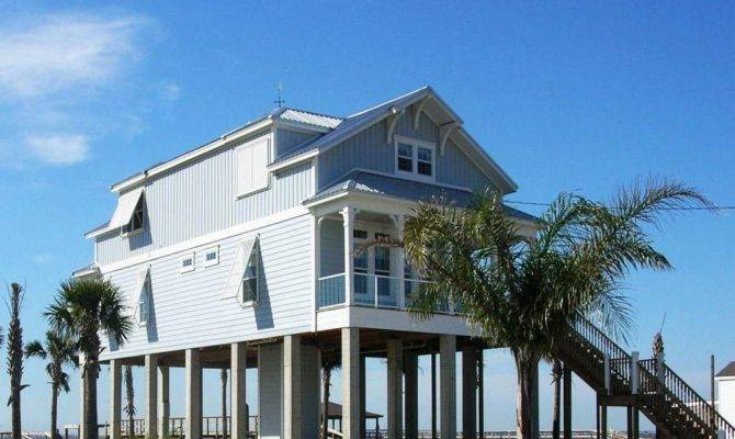Mesmerizing Home Plans Stilts Engaging Beach