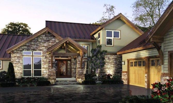 Mesmerizing Rustic Modern House Plans Farm Style