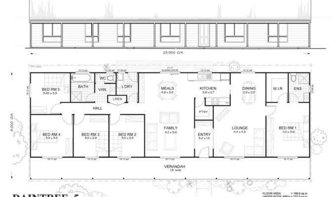 Met Kit Homes Floor Plans Blaxland Affordable Budget Steel