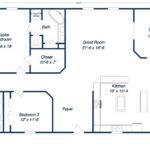 Metal Building Home Floor Plans