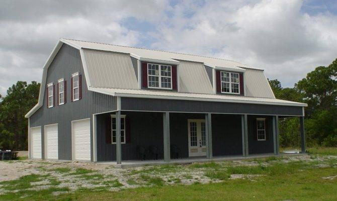 Metal Building House Plans Home Overhang