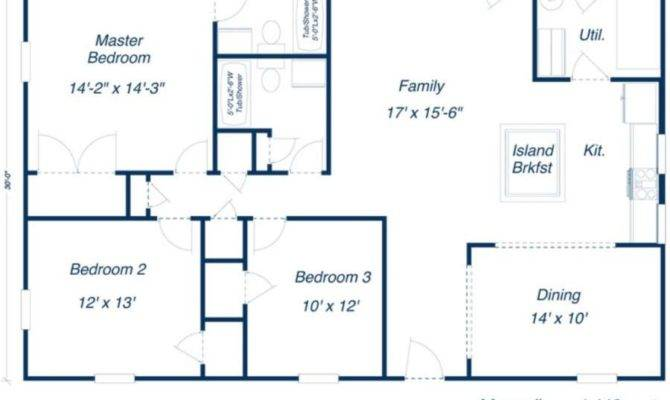 Metal House Floor Plans Building Homes