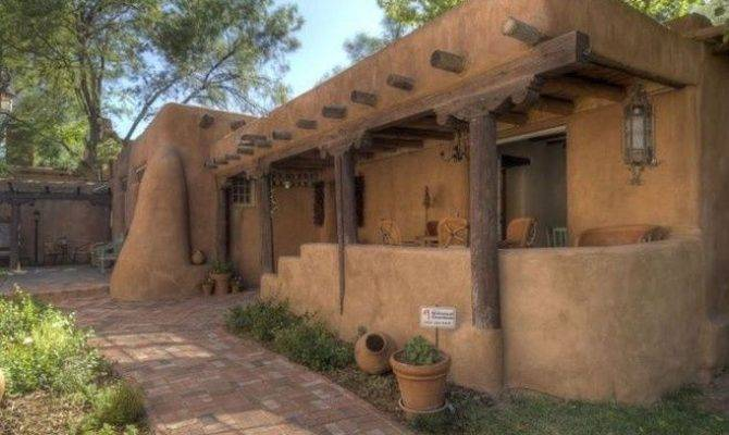 Mexican Adobe New Mexico Home Desert Southwest House Plans 83003