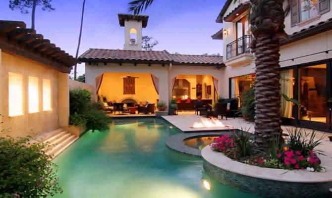 Mexican Hacienda Style House Youtube