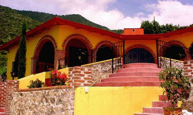 Mexican Home Designs Modern Desert Homes