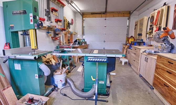 Michael Garage Workshop Wood Whisperer