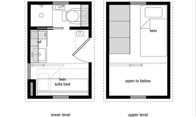 Michael Janzen Tiny House Floor Plans Small Homes