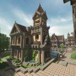 Michael Sullivan Medieval Minecraft House Amazing Stories