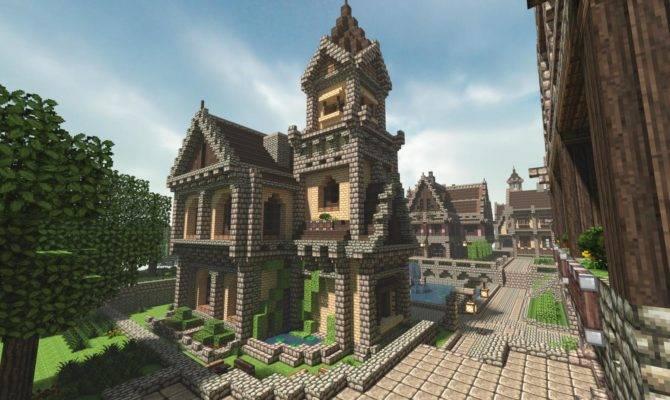 Michael Sullivan Medieval Minecraft House Amazing Stories