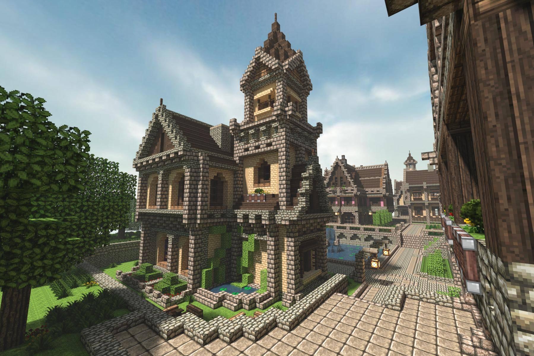 Michael Sullivan Medieval Minecraft House Amazing Stories House Plans 45474