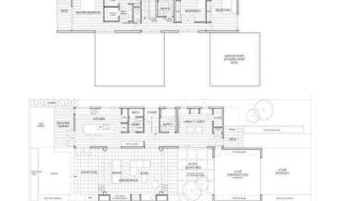 Michelle Kaufmann Breeze House Floor Plan