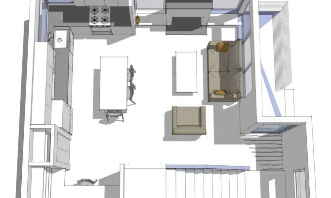 Microhouse Magnolia Backyard Cottage First Floor Plan