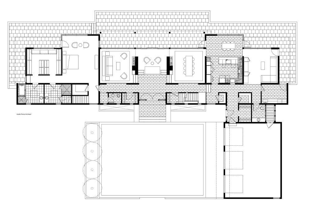 Mid Century Modern Home Floor Plans Plan House House Plans 66531