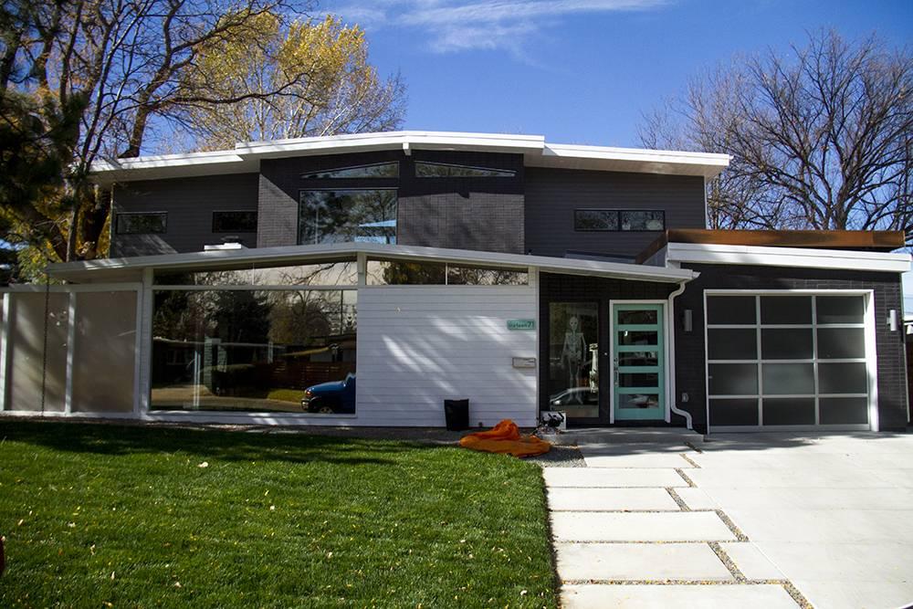 Mid Century Modern Homes Floor Plans Garage House - House ...