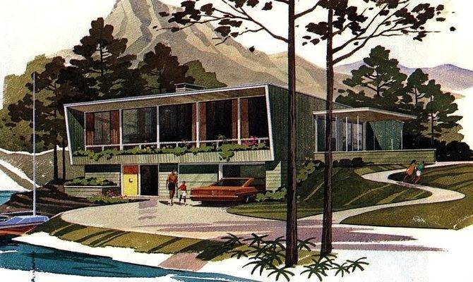 Mid Century Modern House Plans Pleasure Ayanahouse
