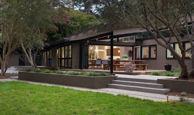 Mid Century Modern Remodel California Opens