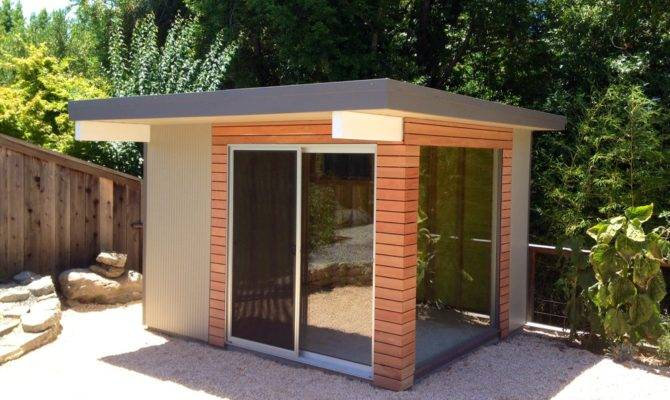 Mid Century Modern Spaces Sheds