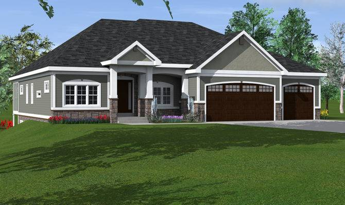 Midwest House Plans Craftsman