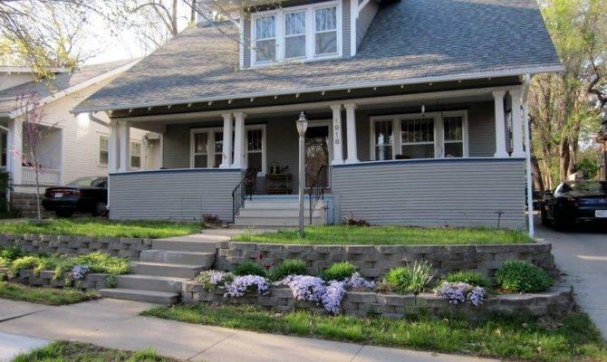 Milestone Craftsman Porch Columns Restored
