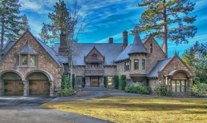 Million Castle Like Lakefront Home Incline Village